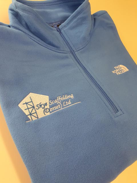 Barritt Garment Printing now offer embroidery